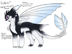 Euforia by AriaAngelwing on DeviantArt Httyd Dragons, Cool Dragons, Cute Fantasy Creatures, Mythical Creatures Art, Night Fury Dragon, Dragon Sketch, My Little Pony Drawing, Dragon Artwork, Dragon Rider
