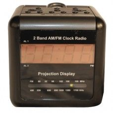 Clock Radio Hidden Camera with DVR Front View
