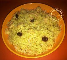 Riz à l'indienne au Curry et Crevettes (Thermomix)