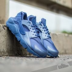 Wmns Nike Air Huarache Run PRM Blue Legend Womens Fashion Running Casual  Shoes | Nike air huarache, Huarache and Casual shoes