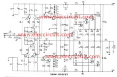 Power Amplifier APEX power amplifier circuit using transistor for based amplify audio. This power amplifier circuit using Transistor , , , , Class D Amplifier, Car Audio Amplifier, Ab Circuit, Circuit Diagram, Simple Electronics, Electronics Projects, Circuits Class, Circuit Design, Circuit Projects