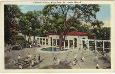 Krug Park Playground St. Joseph Mo - http://ilovestjosephmo.com/krug-park-playground-st-joseph-mo