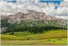 ITALIAN ALPS.,Braies - Prato Piazza, la Croda Rossa 3.148 m. | Flickr - Photo Sharing!