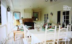 Deidre Hall's back porch fireplace