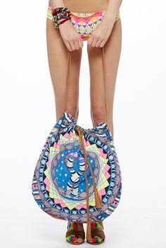 Mara Hoffman Canvas Naga Bag | Mara Hoffman Bags | Mara Hoffman 2014 Nicdelmar.com