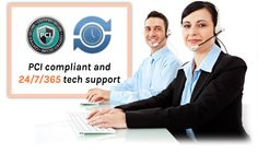 PCI compliant and  24/7/365 tech support