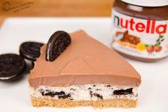 No Bake Nutella Oreo Cheesecake!