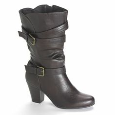 Apt. 9 Midcalf Slouch Boots - Women