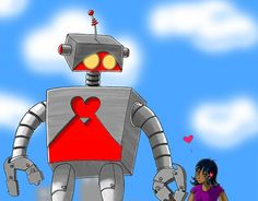 "Check out new work on my @Behance portfolio: ""The Emo Robot"" http://be.net/gallery/47604919/The-Emo-Robot"