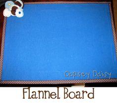 DIY Flannel Board