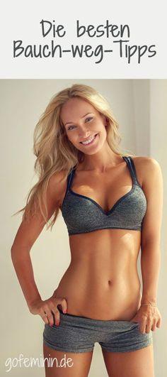7 ingenious abs tips: How it works with the flat stomach! - Manuela Schmitt 7 geniale Bauch-weg-Tipps: So klappt's mit dem flachen Bauch! The best off Tips www. Fitness Workouts, Planet Fitness Workout, Fun Workouts, Fitness Gurls, Fitness Gym, Workout Tips, Mens Fitness, Fitness Inspiration, Model Training