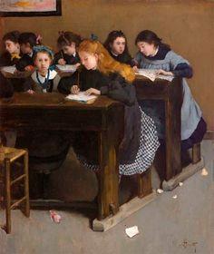 Norbert Goeneutte: Paisaje y pintura de género » Trianarts