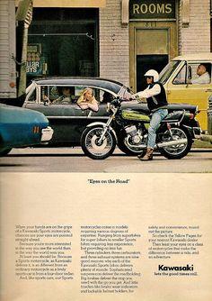 Kawasaki Sport Advertisement