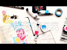 Delight Yourself in the Lord | a process video - Illustrated Faith - Illustrated Faith