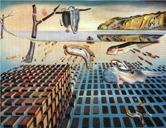 """Dali: """"The Disintegration of the Persistence of Memory"""""""