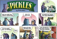 Pickles comic........ My aunt grew up in a small town and said this really happened if you left your car unlocked or you would find them on porches