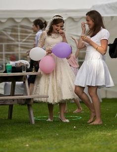 Cute rockabilly wedding dress Rockabilly Wedding Dresses, Cute Wedding Dress, Wedding Pics, Our Wedding, Wedding Ideas, Flower Girl Dresses, Receptions, Ballerina, Pretty