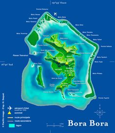 Four Season Bora Bora is nominated as one of the best luxury resort for vacation. Come and experience the Luxury Resort of Four Season in Bora Bora an island in the Leeward group of the Society Islands of French Polynesia. Bora Bora Map, Bora Bora Hotels, Bora Bora Island, Beach Hotels, Beach Resorts, Hotels And Resorts, Vacation Deals, Vacation Spots, Four Seasons Bora Bora