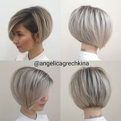 Cutting your hair short can be stressful and intimidating. Make sure you do it right to avoid regrets and awkward in-between phases. If you're thinking of Short Hair With Layers, Short Hair Cuts For Women, Short Hairstyles For Women, Bob Haircuts For Women, Medium Hair Styles, Curly Hair Styles, Short Bob Haircuts, Short Haircut, Short Bob Cuts