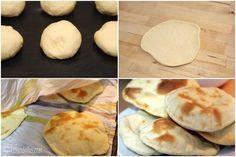 Pan de pita - Thermomix