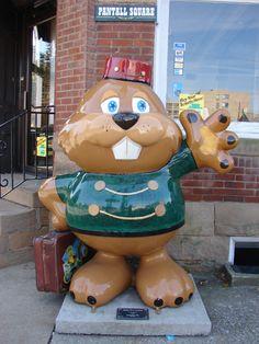 "Punxsutawney, Pennsylvania - Phantastic Phils 2011 - ""Phil'd With Service""  - 32 bigger-than-life fiberglass groundhogs"