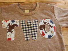 Cowboy Birthday Shirt Organic Blend Birthday by lilthreadzclothing, $26.00