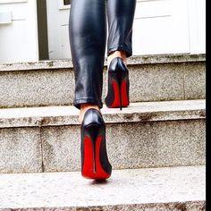 Stair master. #Louboutinworld