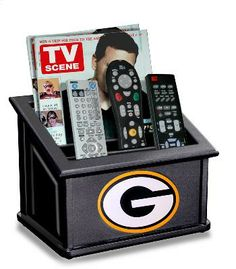 Green Bay Packers Media Organizer - available with your team logo