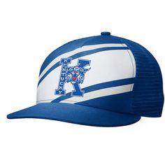 Nike Kentucky Wildcats True Retro Snapback Hat - Royal Blue/White