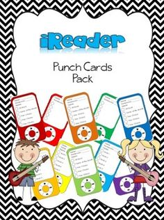This pack includes 3 different versions of 10 punch cards per page in 10 different colors. Each punch card has 5 spaces that you can punch with a hole punch when a child has completed a specific behavior or task. The first set is blank so that it can be used for whatever you like.