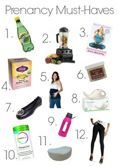 Pregnancy Must haves - these are the things I couldn't live without these past few months
