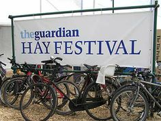 The festival at Hay on Wye.  Miles away from anywhere....