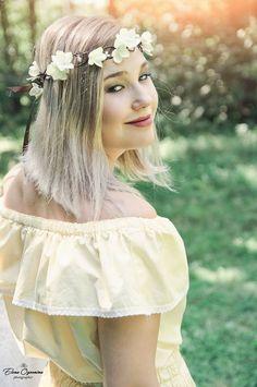 Bridal Halo Headpiece Natural Wedding Hair head Wreath Greek Bridal Crown Boho Flower Bohemian Hair Vine Floral Crown Bridesmaid Garland