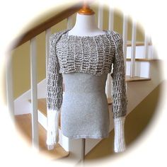 Ravelry: LBK63's Warm Hug Shrug II- Pattern by Sincerely Pam