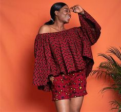 Ankara Dress Styles, Ankara Tops, Short African Dresses, Latest African Fashion Dresses, Crop Top With Jeans, African Fashion Designers, Look Plus, Leggings, Plus Size Dresses