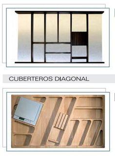 Cocinas accesorios para organizar tu cocina madrid - Accesorios para muebles de cocina ...