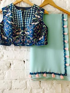 Saree Blouse http://bellanblue.com