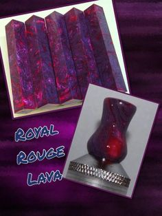 Royal Rouge Lava Acrylic by AngelsHeavenlyDesign on Etsy, $25.00