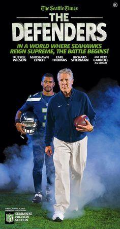 Seattle Seahawks - Pete Carroll & Russell Wilson