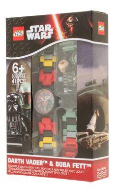 LEGO Star Wars Darth Vadar and Boba Fett Watch f8f00df3b9