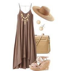 browny dress