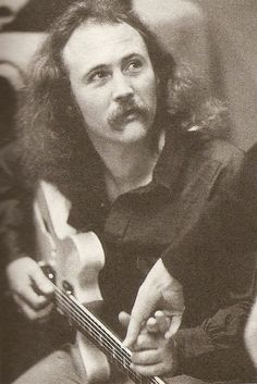 David Crosby at Wally Heider's, 1972. Photo by Henry Diltz.