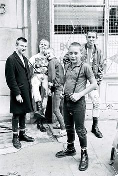 Young skinheads