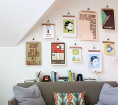 Beautiful and creative ways to display art and objects