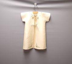 1940's Handmade Cream Baby Crib Coat Set Vintage by BabyTweeds