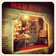 Red Eye Cafe - 94 Walnut St. Independent coffee, great food, relaxed atmosphere.