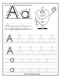 Worksheets Tracing Worksheets Printable letter tracing a z free printable worksheets worksheetfun for preschool appel kids