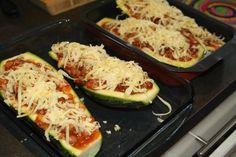lavkarbo middag: Ovnsbakt squash med kjøttsaus