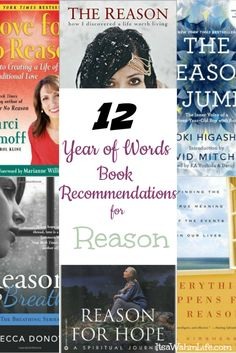 12 Year of Words book recommendations for the word Reason ItsaWahmLife.com
