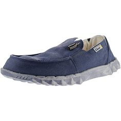 Hey Dude Farty Chalet Blue Canvas - http://on-line-kaufen.de/hey-dude/hey-dude-farty-chalet-blue-canvas